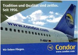 CONDOR - Boeing 767 (Airline Issue) - Tradition Seit 1956 - 1946-....: Moderne