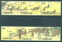 TOKELAU - MNH/** - 1989  - FOOD GATHERING - Yv 172-177 -  Lot 18384 - Tokelau