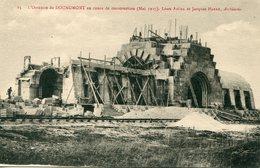 55 - DOUAUMONT - L'Ossuaire De Douaumont En Cours De Construction (mai 1927). - Douaumont