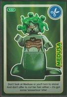 Lego Trading Card - Create The World - 122 Medusa - Trading Cards