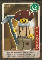 Lego Trading Card - Create The World - 123 Prospector - Trading Cards