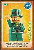 Lego Trading Card - Create The World - 124 Leprechaun - Trading Cards