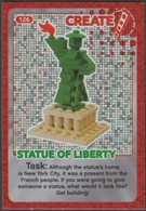 Lego Trading Card - Create The World - 126 Statue Of Liberty - Trading Cards