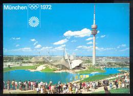 GERMANY OLYMPIC GAMES 1972.  MUNICH OLYMPIC CITY   POSTCARD - Giochi Olimpici