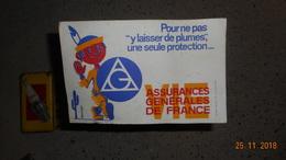 Buvard ASSURANCES GENERALES DE FRANCE - Zonder Classificatie