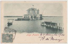 Pozzuoli Napoli Lago Fusaro VG1900 #Cartoline #Paesaggi #Collezionismo - Pozzuoli