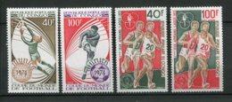 9907  CONGO PA176,181 ** Coupe Du Monde De Football Et 2é Jeux Africains à Lagos   1973-1974    TTB - Congo - Brazzaville