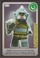 Lego Trading Card - Create The World - 128 Lady Cyclops - Trading Cards