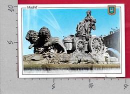CARTOLINA VG SPAGNA - MADRID - La Cibeles - 10 X 15 - ANN. 1998 AMERICA ESPANA - Madrid