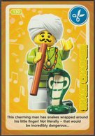 Lego Trading Card - Create The World - 130 Snake Charmer - Trading Cards