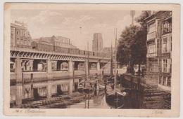 Rotterdam - Kolk Met Trein Op Brug - 1928 - Rotterdam