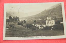 Ponte Di Legno Brescia Poia E Villa Allegno 1924 Ed. Trinca - Brescia