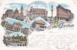 300622Gruss Aus Aachen  29-09-1996  Litho (sehe Ecken) - Aachen