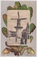Rotterdam - Molen Oostvestplein Met Volk - 1900 - Rotterdam