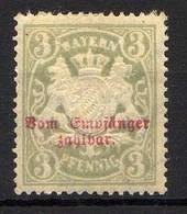 Bayern 1888/1903 Portomarken Mi 10 B X *  [011218IX] - Bavaria