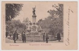 Rotterdam - Burgemeester Hofmansplein Met Volk - Rotterdam