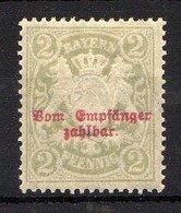 Bayern 1895/1903 Portomarken Mi 13 *  [011218IX] - Bavaria
