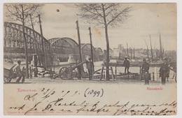Rotterdam - Maaskade Met Volk - 1899 - Rotterdam