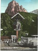 V3053 Motivo In Val Gardena (Bolzano) - Grodnertal - Il Crocifisso - Panorama / Viaggiata 1963 - Italie