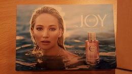Joy - Perfume Cards