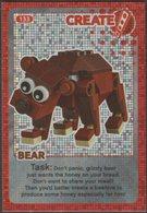 Lego Trading Card - Create The World - 133 Bear - Trading Cards