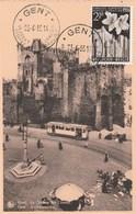 BELGIQUE CARTE MAXIMUM FLORALIES GANTOISES  N° 962  OBLITERE - Maximumkarten (MC)