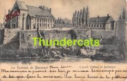 CPA LES ENVIRONS DE BEAUMONT L'ANCIEN CHATEAU DE BARBENCON NELS SERIE10 NO 35 - Beaumont