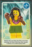 Lego Trading Card - Create The World - 137 Hula Dancer - Trading Cards