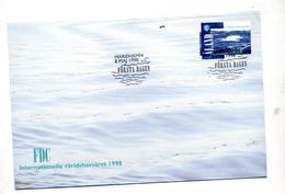 Lettre Fdc 1998 Varldshavsaret - Aland