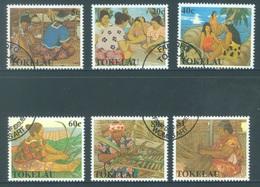 TOKELAU - USED/OBLIT. - 1990  - WOMEN ARTS - Yv 183A-183F -  Lot 18387 - Tokelau