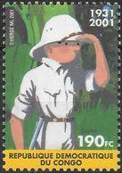 CONGO BELGE (Kinshasa) 1523 ** MNH TINTIN KUIFJE HERGE CONGO Comics Bande Tintin Au Congo - République Démocratique Du Congo (1997 -...)