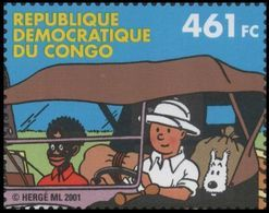 CONGO BELGE (Kinshasa) Mi1091 ** MNH TINTIN KUIFJE HERGE CONGO Comics - République Démocratique Du Congo (1997 -...)
