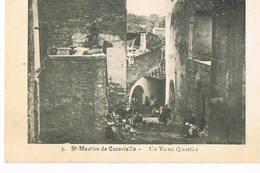 Saint Maurice De Cazevieille, Gard, Un Vieux Quartier - France
