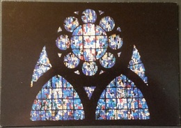 Ak Frankreich - Metz - Kathedrale,Kirche,church, Eglise - Saint Etienne - Glasmalerei - Kirchen U. Kathedralen