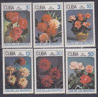 Cuba N° 2762 / 67 XX  Fêtes Des Mères : Fleurs Diverses, Les 6 Valeurs, Sans Charnière, TB - Cuba