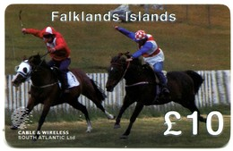 Falkland Islands - FK-C&W-PRE-0041 - Stanley Horse Race (Remote Memory Card) - Falkland Islands