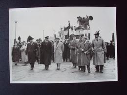 FOTO CON MILITARI ITALIANI RITROVO A TRIESTE DEI REDUCI DI RUSSIA - Krieg, Militär
