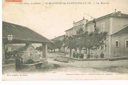 Saint Maurice De Cazevieille, Gard,la Mairie - France