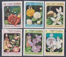Cuba N° 2937 / 42 XX  Journée Des Mères : Fleurs Et Leur Parfum, Les 6 Valeurs, Sans Charnière, TB - Cuba