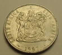 1987 - Afrique Du Sud - South Africa - 50 CENTS - KM 87 - Afrique Du Sud