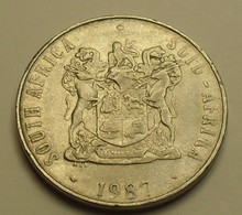 1987 - Afrique Du Sud - South Africa - 50 CENTS - KM 87 - Sud Africa
