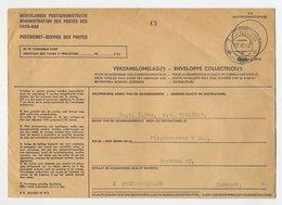 Dienst PTT Zaandam - Denemarken 1958 - Verzamelomslag - Periode 1891-1948 (Wilhelmina)