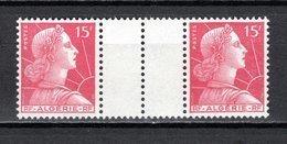 ALGERIE N° 329  PAIRE AVEC PONT  NEUF SANS CHARNIERE COTE ? €  MARIANNE DE MULLER - Algérie (1924-1962)