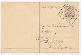 Treinblokstempel : Breda - Vlissingen A 1927 - Periode 1891-1948 (Wilhelmina)