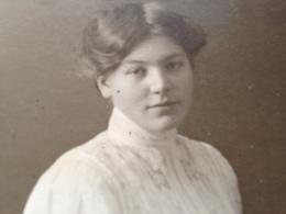 LUEBECK - L. CHRISTENSEN - 1908 - WIDMUNG - Identifizierten Personen