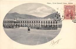 Bolivie / Belle Oblitération - 83 - Plaza 10 De Febrero - Oruro - Défaut - Décollée - Bolivie