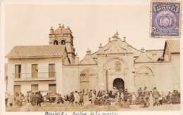 Bolivie / Belle Oblitération - 85 - Sortie De La Messe - Bolivie