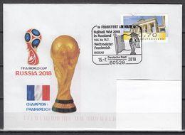 Football / Soccer / Fussball - WM 2018:   Deutschland  Brief  Used - Coupe Du Monde