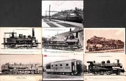 Lot 7 Train Loco Locomotive Motrice - Trains