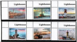 Tajikistan. 2018 Lighthouses. 6v: 1.85, 3.50, 4.20, 5.80, 7.60, 10 - Tadjikistan